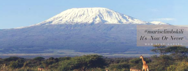 I'm going to climb Kilimanjaro!